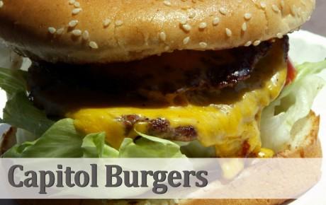 Capitol Burgers website pics
